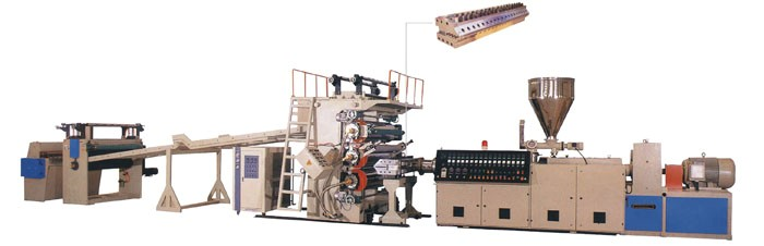 供应PS、PP、PE、ABS片材、板材生产线