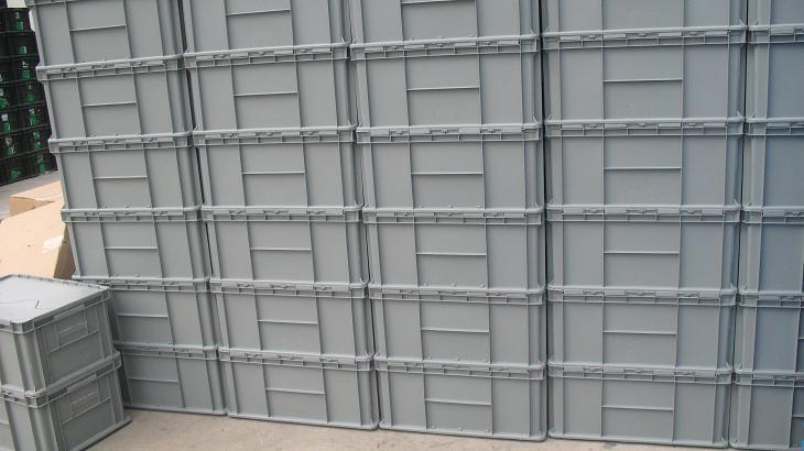 吉林塑料周转箱上海可堆跺塑料箱