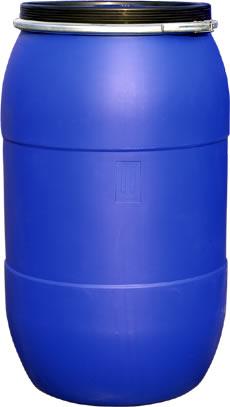 200升塑料桶200L抱箍桶