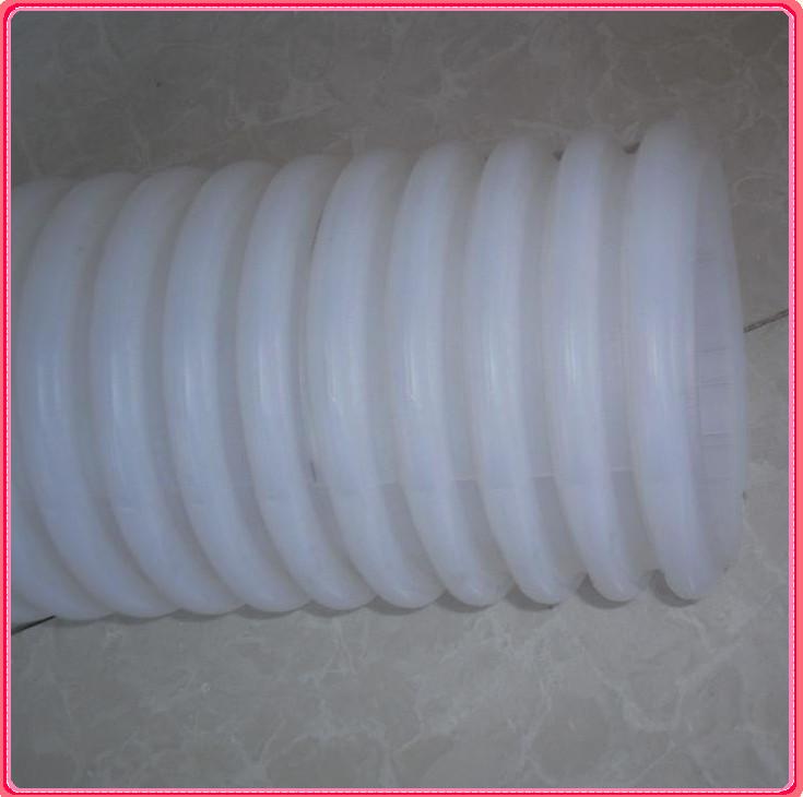 HDPE双壁波纹管|白色PE穿线管|PE渗水管|河北排水管