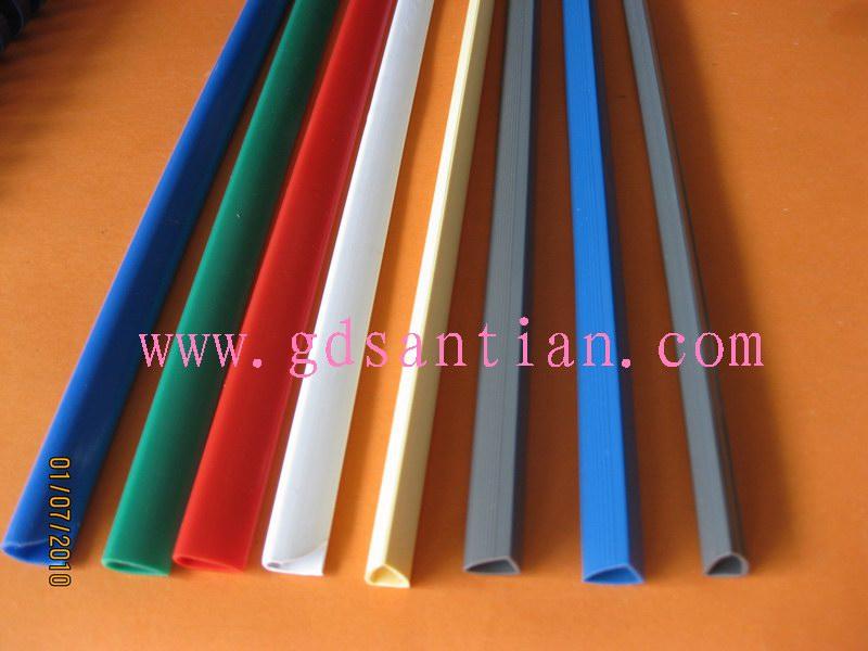 抽杆文件夹,文件夹条,塑料条,塑料杆,PVC文件杆