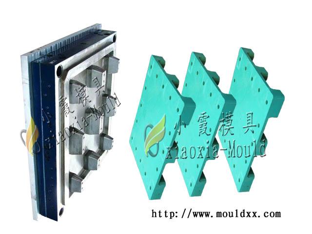 生产托盘模具超轻单面托盘塑料模具