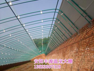 温室大棚材料 镀锌钢管大棚支架 塑料棚膜