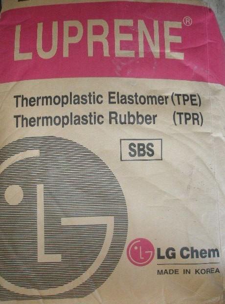 SBS LG化学411干胶胶粘剂改性TPR塑料501S