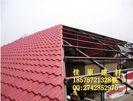 肇庆树脂瓦材料-广宁合成树脂瓦-四会屋面树脂瓦