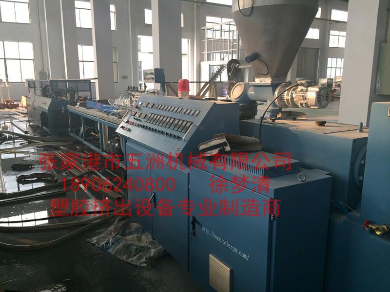 PVC木塑门套生产线