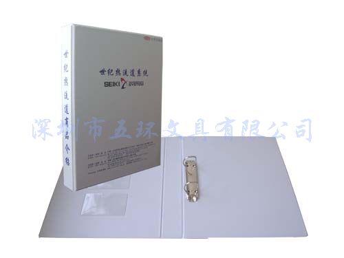 白色电压文件夹,定做PVC文件夹,仿皮文件夹,2孔文件夹
