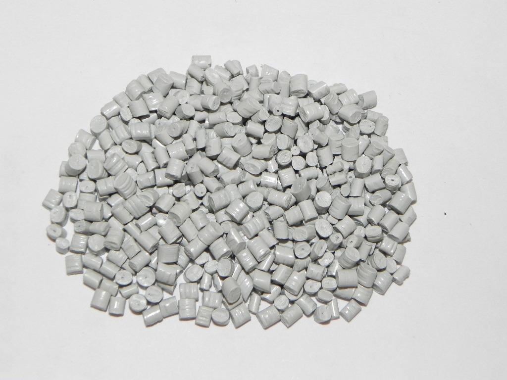 灰白色PP再生料 pp回料白色 聚丙烯灰白色再生料