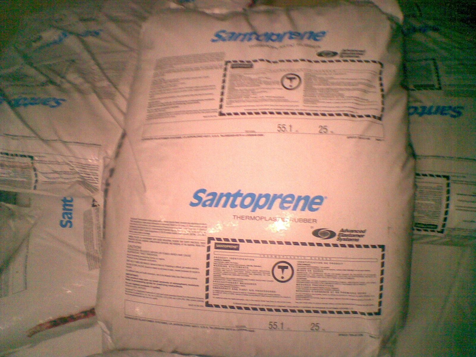 出货粘合性Santoprene TPV 291-75B150