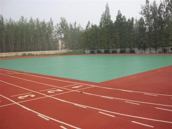 芜湖塑胶篮球场EPDM幼儿园场地PVC运动地板