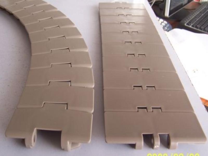 880TAB塑料转弯链板