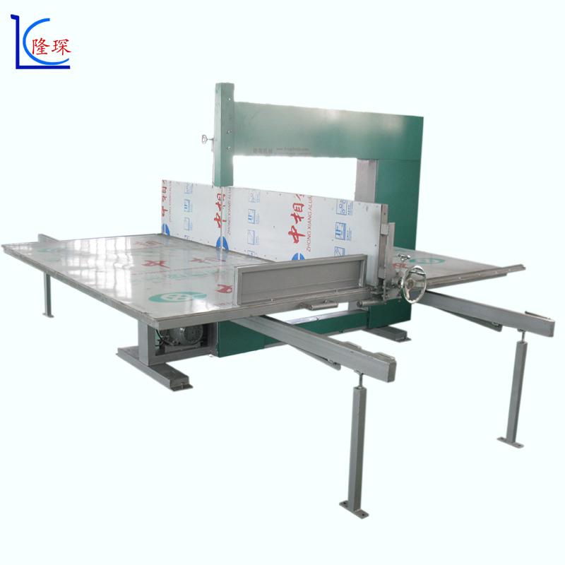 隆琛珍珠棉四轮立切机 珍珠棉直切机 珍珠棉锯台 隆琛机械品质保证
