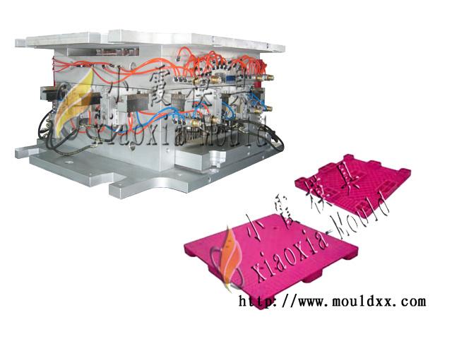 黄岩塑胶模具公司  生产托盘模具 1.5m塑胶叉车托盘模具