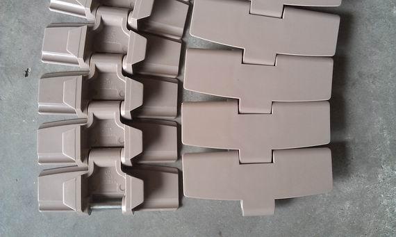 齿形链条 有导向侧弯链 塑料链板 链条