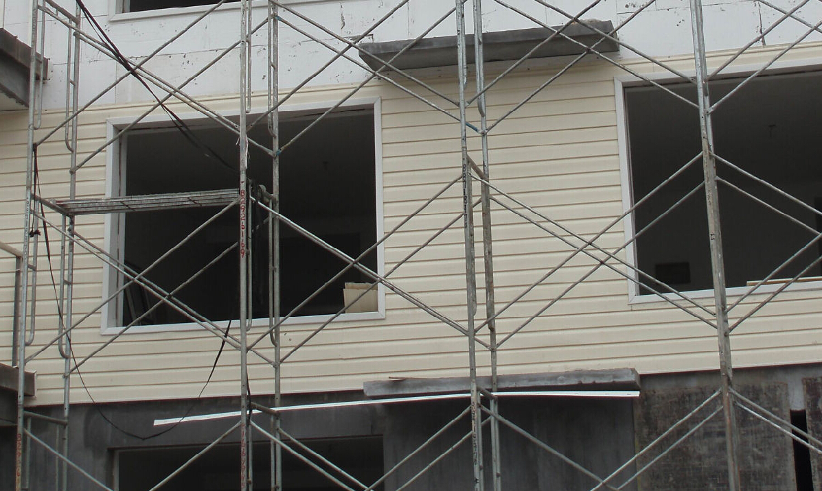 外墙开裂怎么处理pvc外墙挂板为您解决