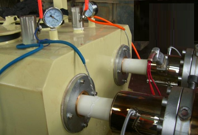 PVC双螺杆挤出机械,穿线管生产设备