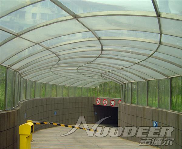采用全新进口料生产高档阳光板  湖蓝阳光板厂家直销报价