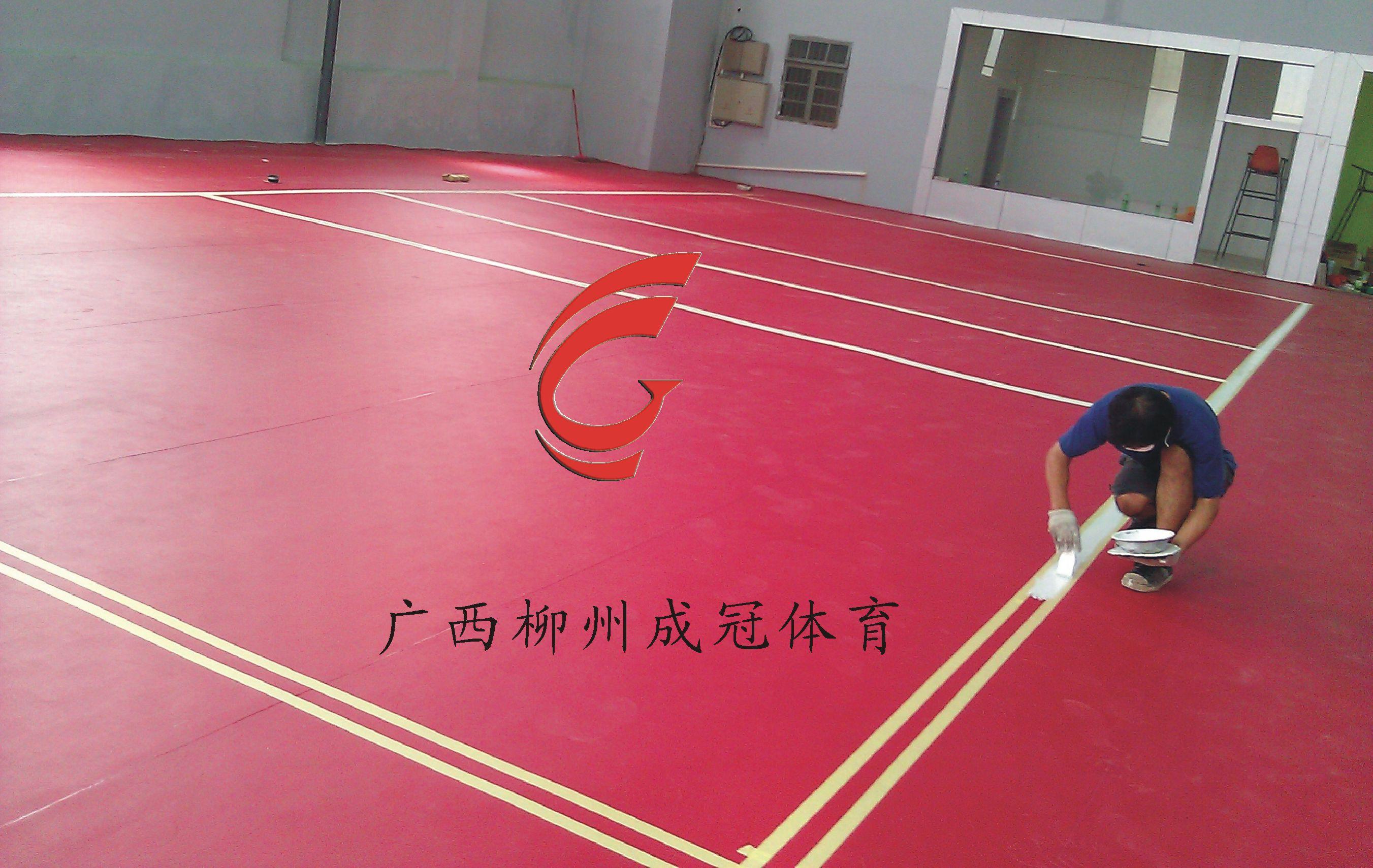 贵港PVC篮球场地胶施工队