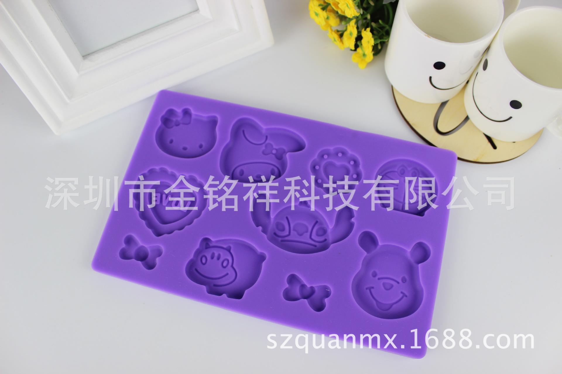 现货供应硅胶蕾丝翻糖模具 DIY蛋糕装饰烘焙工具
