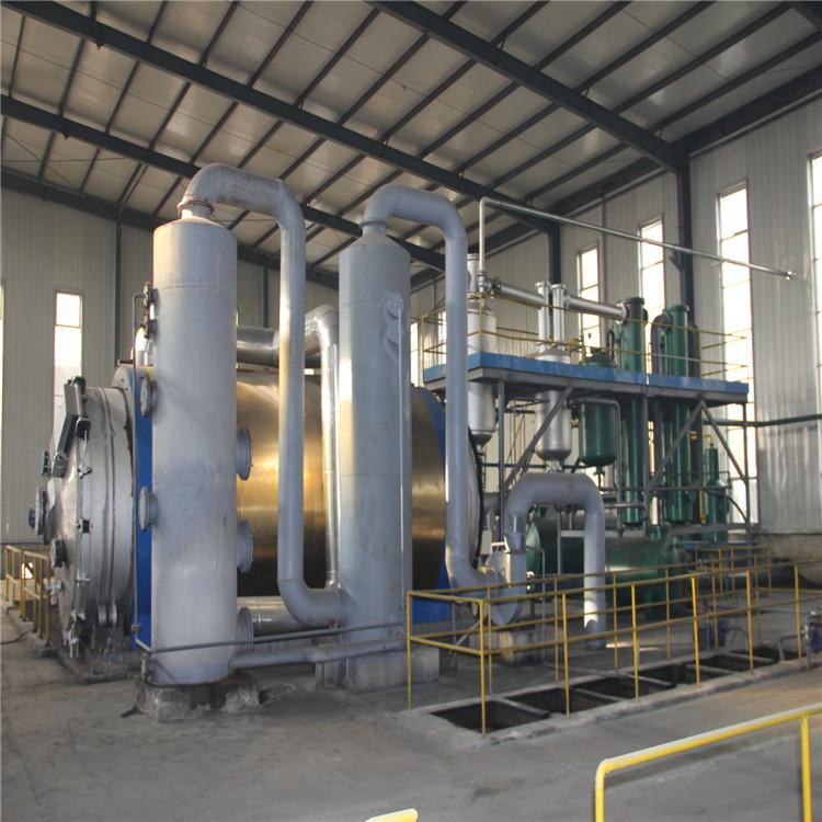 蒸馏设备 废机油炼化设备