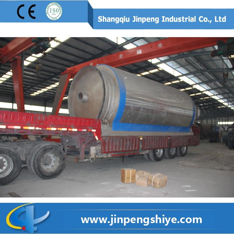 金蓬环保炼油设备 环保炼化设备 废轮胎炼油设备