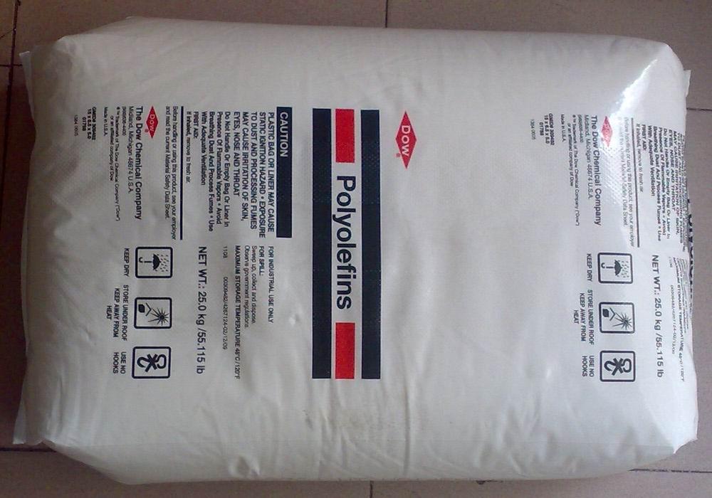 DOW LDPE 582E光产生袋。软商品包装。纺织包装。