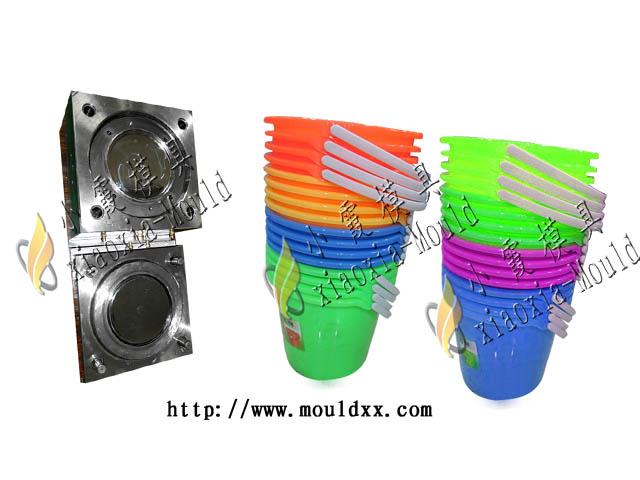 台州注塑模具厂 酿酒桶塑料模具