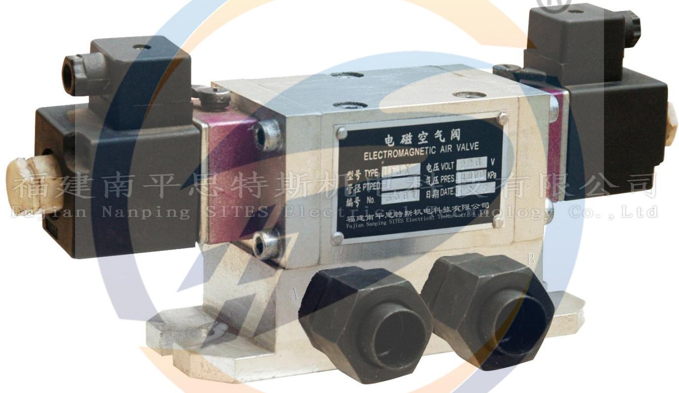 DKF-B24二位四通电磁空气阀