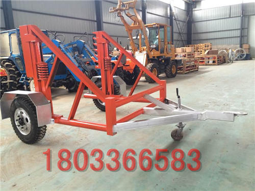 5-12T电缆线盘放线车 电缆拖车 电缆放线车 电缆炮车