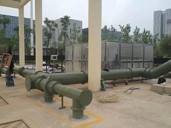 FRP管道玻璃钢管道除臭管道玻璃钢风管