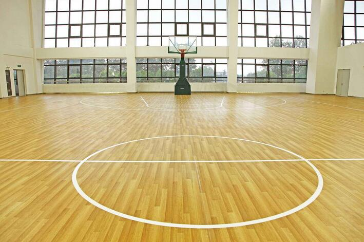 篮球场地板(保定pvc)