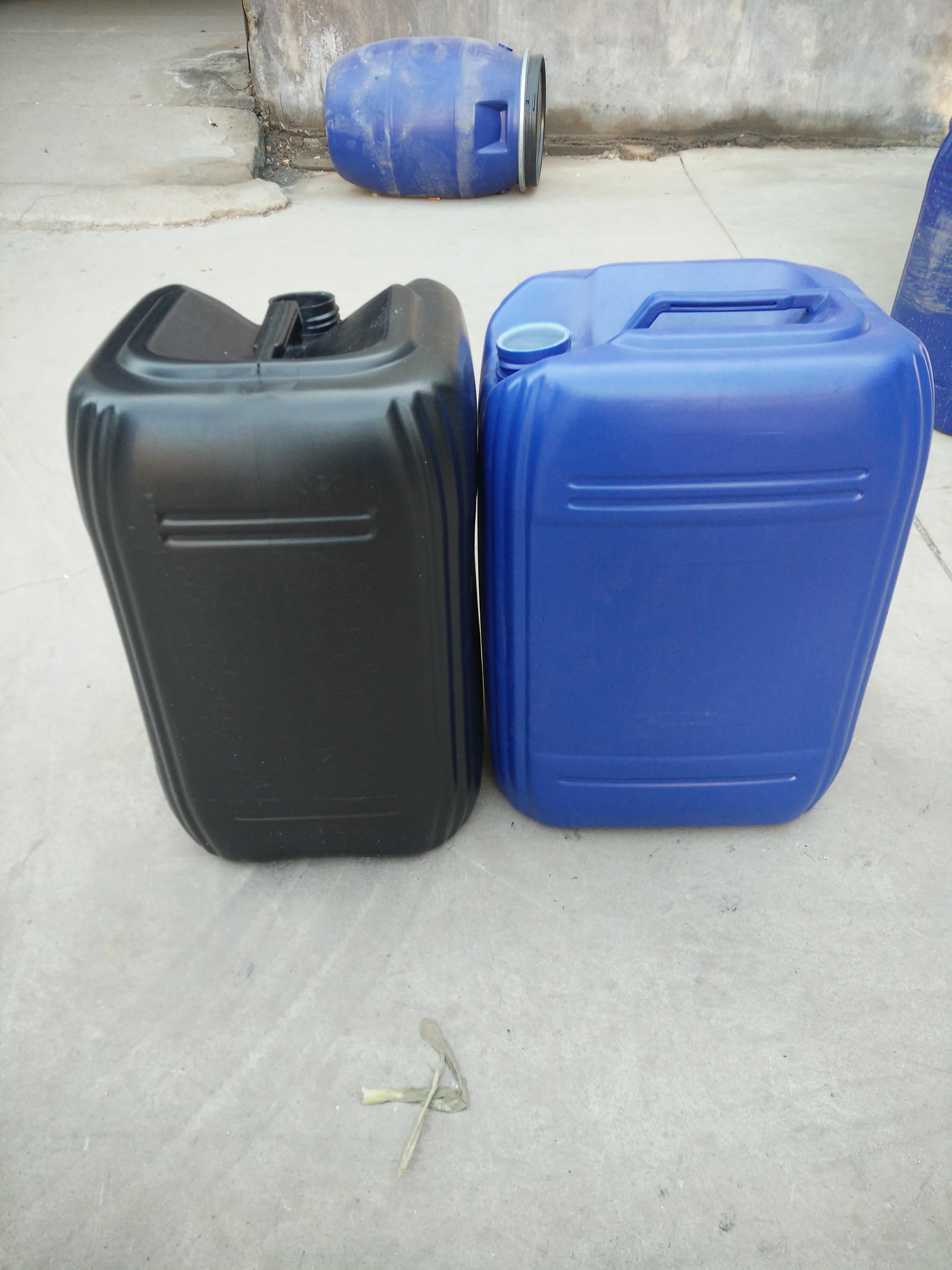 25升AB胶水通用塑料桶  抗摔结实的25升堆码桶
