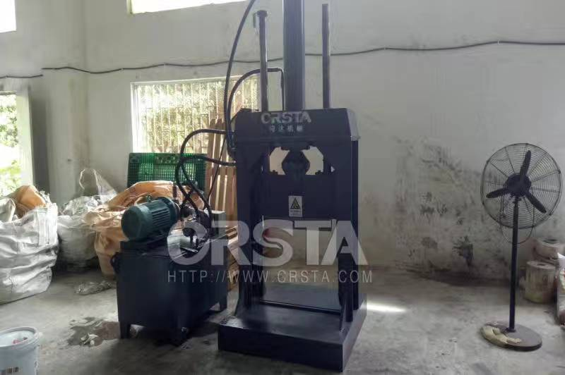 CRSTA 大块塑料切胶机广东液压切割机