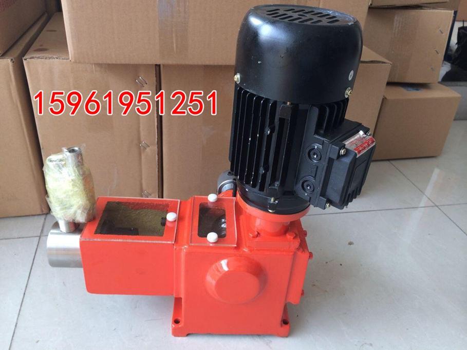 湖北襄阳100Lh计量泵配PVC泵头厂家