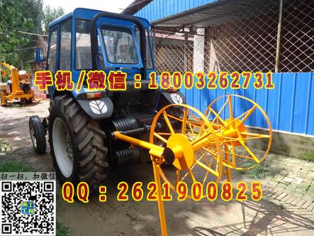 280型拖拉机牵引机 机动绞磨机牵引机 拖拉机绞磨机