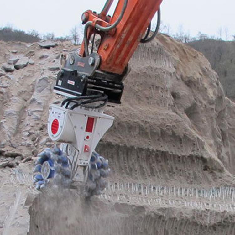 隧道爆破掘进头铣挖机 挖机改装铣挖机挖掘机铣挖机