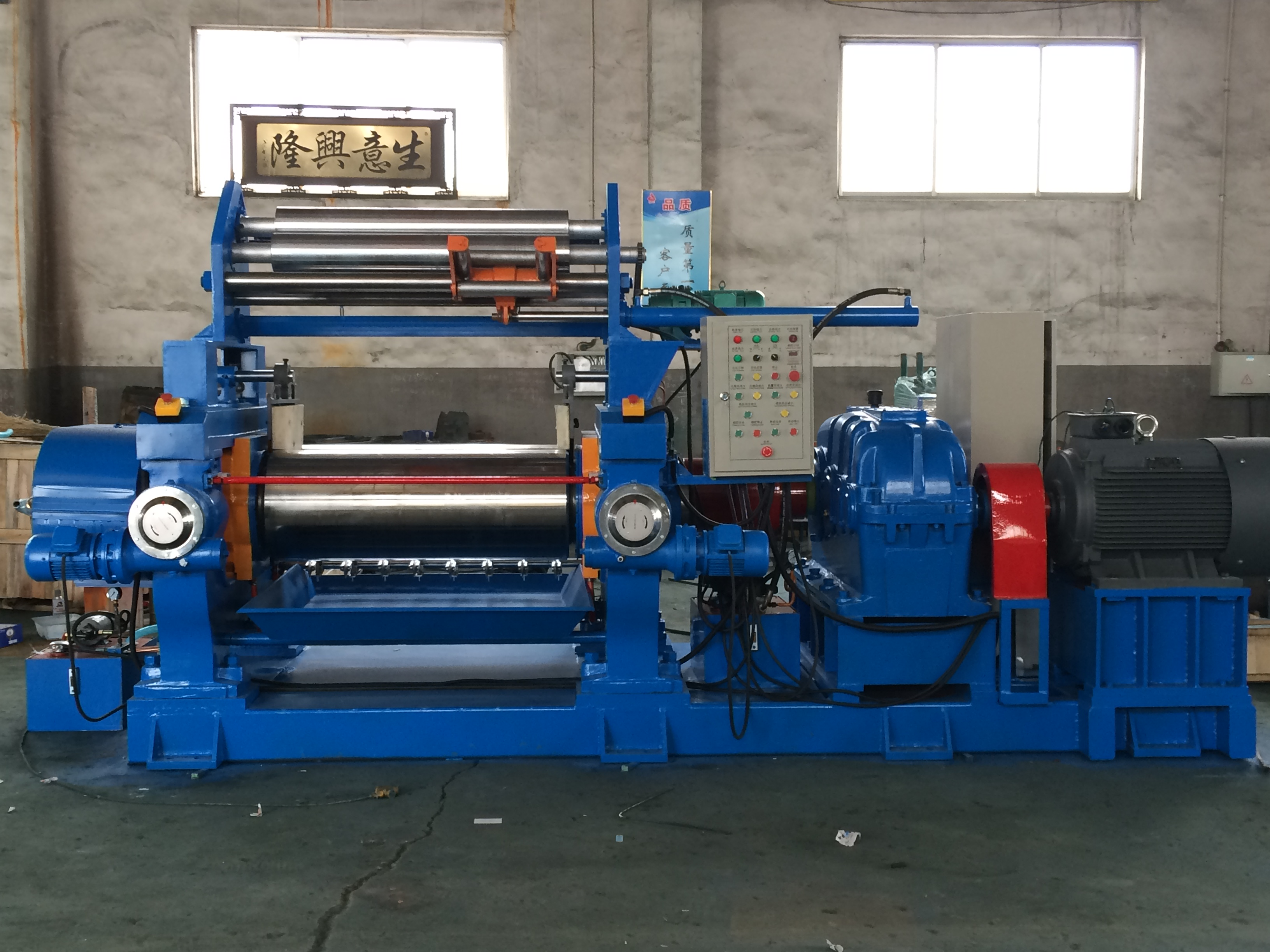橡胶开炼机翻胶装置-炼胶机翻胶装置