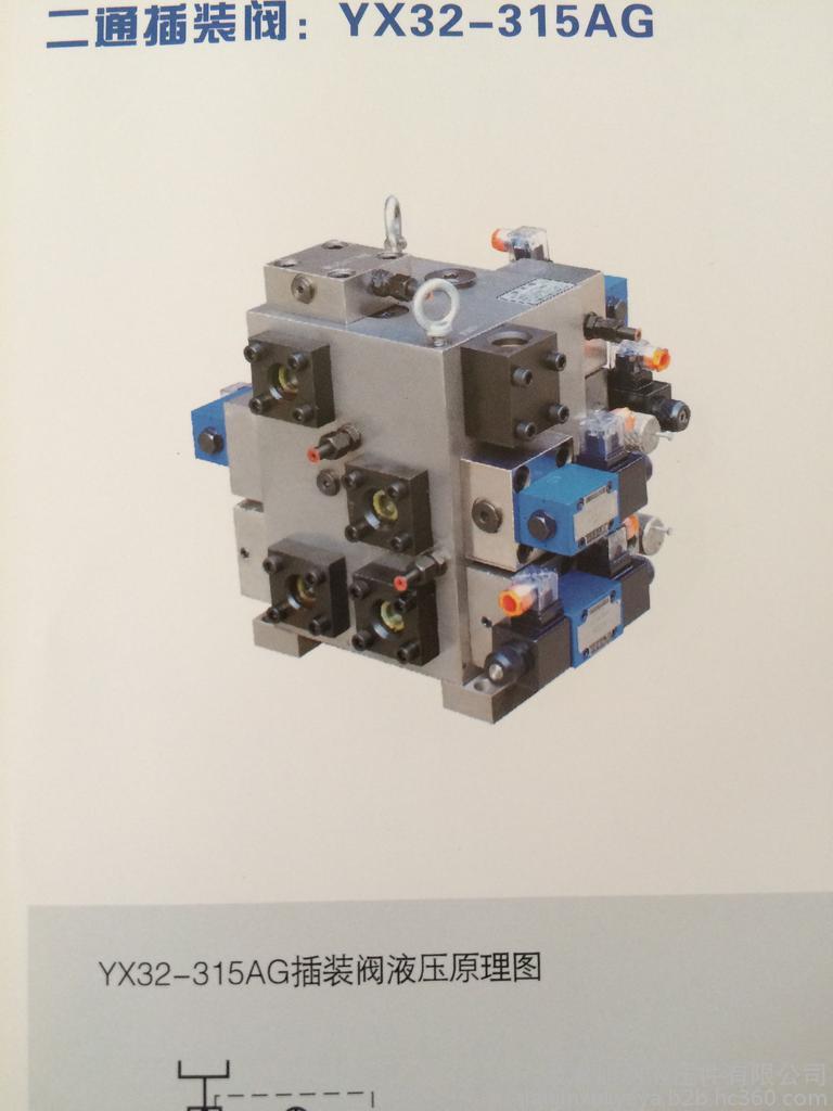 插装阀YX32-315AG质量好的厂家-硫化机插装阀YX32-315AG天津生产批发-中天插装阀YX32-315AG供应