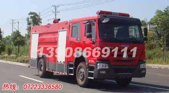 重型消防车,8吨水罐消防车,江特JDF5204GXFSG80型水罐消防车,斯太尔国五消防车