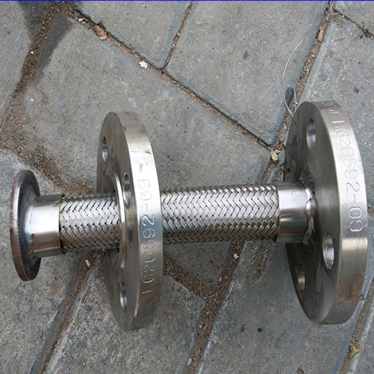 【冠通 】优质 金属软管 金属波纹管 不锈钢金属软管 法兰连接金属软管