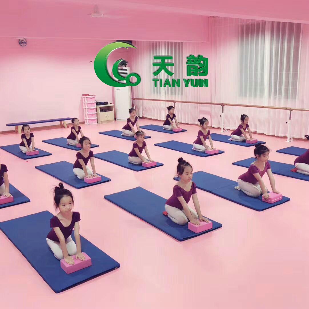 舞蹈地胶厂家批发【天韵】舞蹈地板、舞蹈专用地板