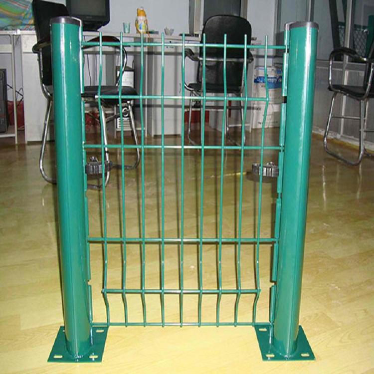 桃型立柱护栏 振鼎 三角折弯桃形柱护栏 市政围网