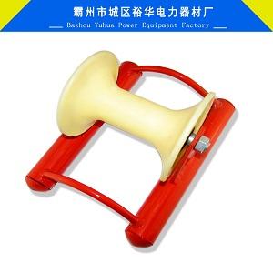 厂家供应电缆直线滑车 铝轮地缆直线滑轮 平板放线滑车