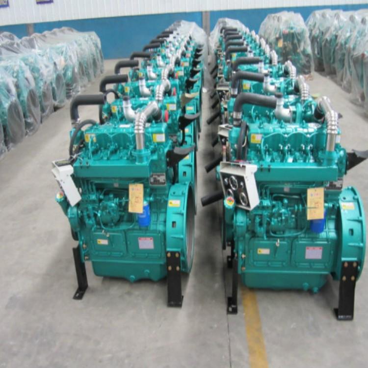 液压设备四缸柴油机