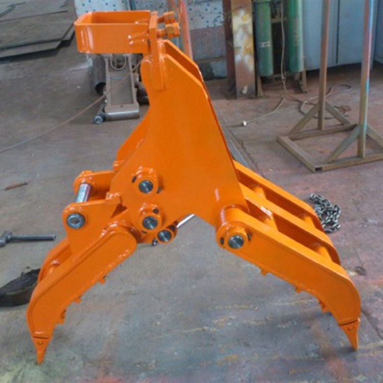 挖机抓木器 工程机械夹木器 挖掘机配件 厂家直销