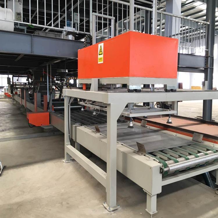 自动化玻镁防火板生产线 氧化镁板制板机 硫氧镁板生产线