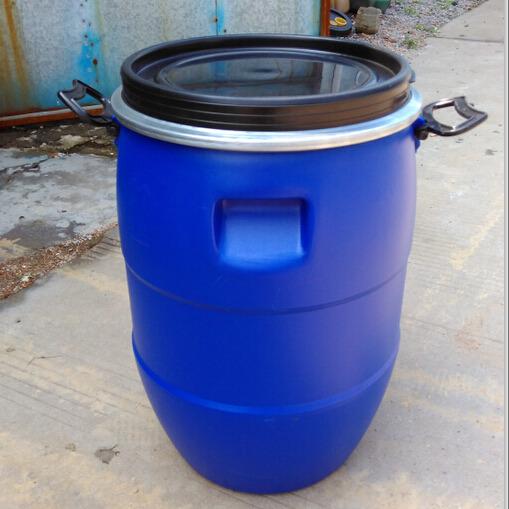 60升铁箍塑料桶