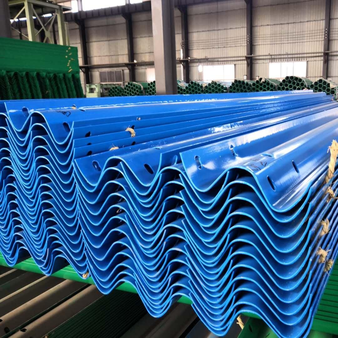 厂家供应波纹护栏板、国标喷塑护栏板、热镀锌波形护栏、波形栏杆