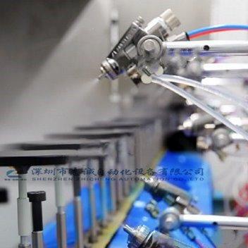 手机壳uv喷油线  玻璃瓶喷漆设备 自动喷油生产线设备