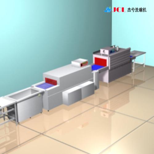 塑料餐具洗碗机 密胺餐具洗碗机 洗碗机价格 全自动食堂洗碗机